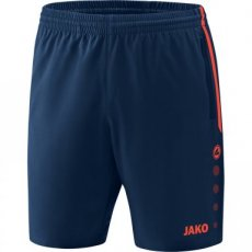 JAKO Short COMPETITION 2.0 navy/flame