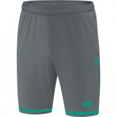 JAKO Short STRIKER 2.0 antraciet/turkoois