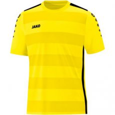 JAKO Shirt Celtic 2.0 KM citroen light/zwart