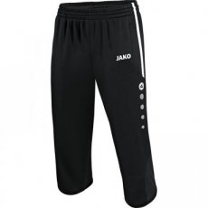 JAKO 3/4 Trainingsshort Active zwart/wit
