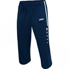 JAKO 3/4 Trainingsbroek ACTIVE marine/wit