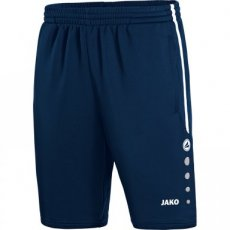 JAKO Trainingsshort Active marine/wit